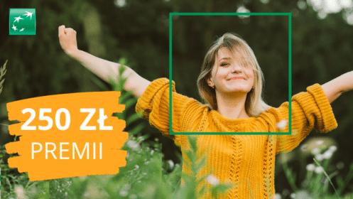 BNP Paribas: Zgarnij 250 zł Premii z Kontem Otwartym na Ciebie