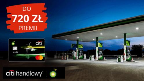 Citi handlowy: Do 240 zł rocznie (przez 3 lata!) z kartą kredytową CitiBank Motokarta