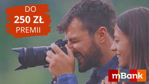 mBank: Zgarnij do 250 zł premii z mKontem Intensive idodatkowe 50 zł za otwarcie eKonta Junior!