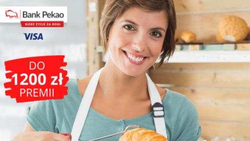 Bank PEKAO: Do 1.200 zł Premii dla Firm oraz Konto Przekorzystne Biznes i Karta za 0 zł przez rok!