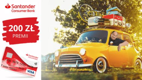 Santander CB: Zyskaj 200 zł z kartą kredytową Visa Comfort!