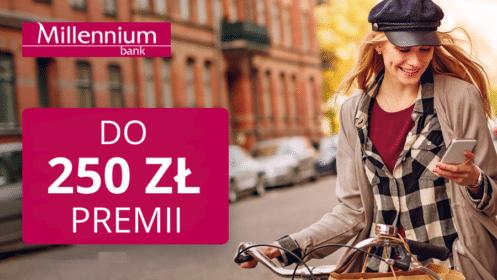 Millennium: Zgarnij do 250 zł premii z Kontem 360°!