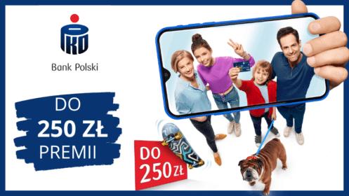 Bank PKO: Zyskaj do 250 zł premii za otwarcie Konta dla Młodych (18-26 lat) lub 125 zł za otwarcie Konta Pierwszego (13-17 lat)!